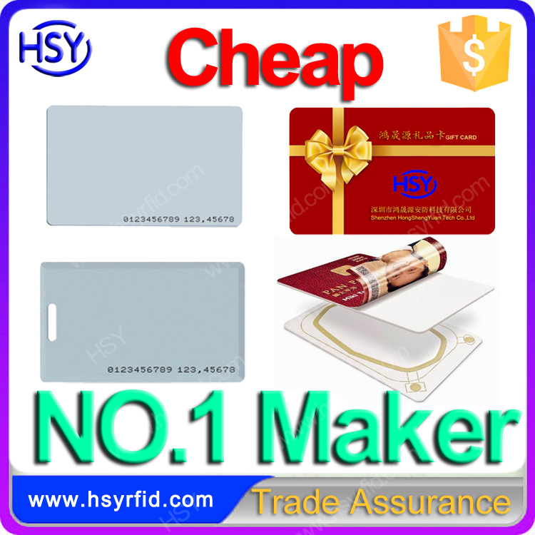 Top supplier authenticity certificate card entrance guard card rfid access card