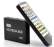 Full HD 1080P Aluminum HDD Media Player for Advertisng Digital Signage with Autoplay &Loops&Resume Functions