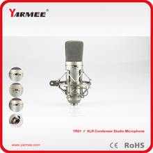 Large diaphragm professional studio condenser microphone for recording and stage