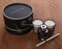 2015 new style handmade candle with luxury box citronella candle