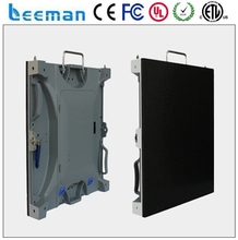 Leeman p10/12 rental indoor transparent led video displays P2 indoor digital signage player
