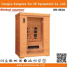 fashion nudist sauna room for seks men and women infrared sauna spa KN-002A