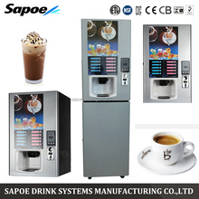 Wholesale Industrial Coin Recognizer Hot And Cold Drinks Commercial Vending Protein Coffee Machine
