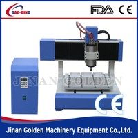 GT-A6090 desktop mini 3d cnc metal engraving machine/small metal engraving machine/headstone engraving prices