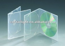 Square 5.2mm Double Smooth Clear DVD Case