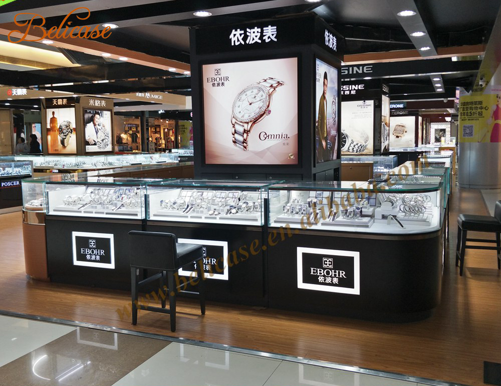 Watch Retail Outlet Display Kiosk Manufacturer - Buy Watch Display ...