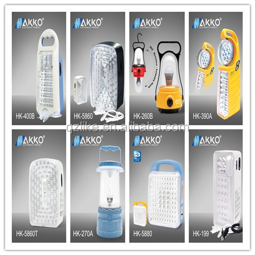rechargeable mobile solar charger 40pcs LED Emergency Light