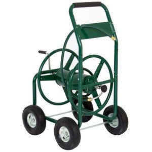Garden sprinkler cart Hose Reel Cart with Foam Handle