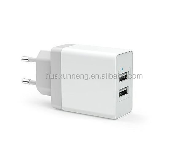 5V 3.4A Universal Travel USB Charger Adapter Wall 2 usb port Portable EU US Plug Mobile Phone Smart Charger for iPhone Tablet