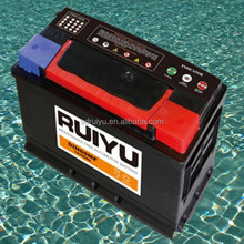 DIN100 New design 12v100ah car battery in Korea for sale
