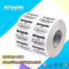SINMARK 40mmx20mm 4500PCS/Roll White Thermal Transfer Label Coated Paper Label Glossy Art Paper Sticker With Permanent Adhesive
