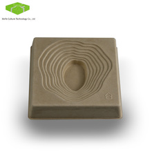 Molded Corrugated Bagasse Raw wood Paper Pulp Bamboo Packaging Tray