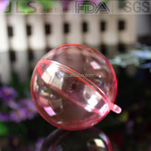 High quality indoor Christmas clear hanging ball for Christmas tree ornaments
