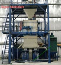 high temperature pulse jet cleaning bag house dust collector with pps filter bags