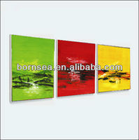 canvas decorate painting room hanging wall decoration painting group abstract printing fabric