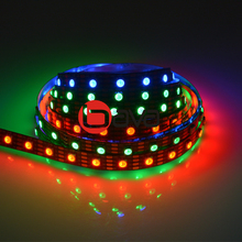 2019 best quality 5v magic digital led strip 300d hd107s 5050 <strong>rgb</strong> strips