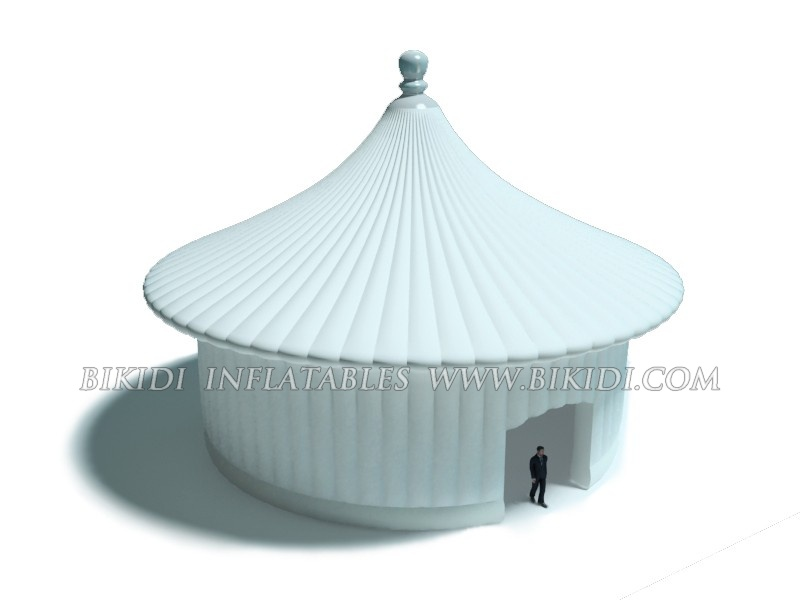 Inflatable Pagoda Tent, huge inflatable constructions K5039