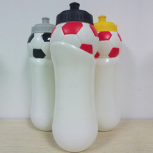 1000ML PP football shaped plastic water jars large volume sports drinking bottle