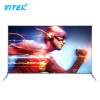 Best Selling 43inch Metal Frame ELED TV, 43 inch Ultra Slim 1920*1080 FHD LED TV Smart, New Model Cheap Bulk 4K Smart TV 55 inch