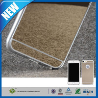 C&T Luxury Mirror Electroplating Soft Clear TPU Gel Cases for Apple iPhone 6 Plus