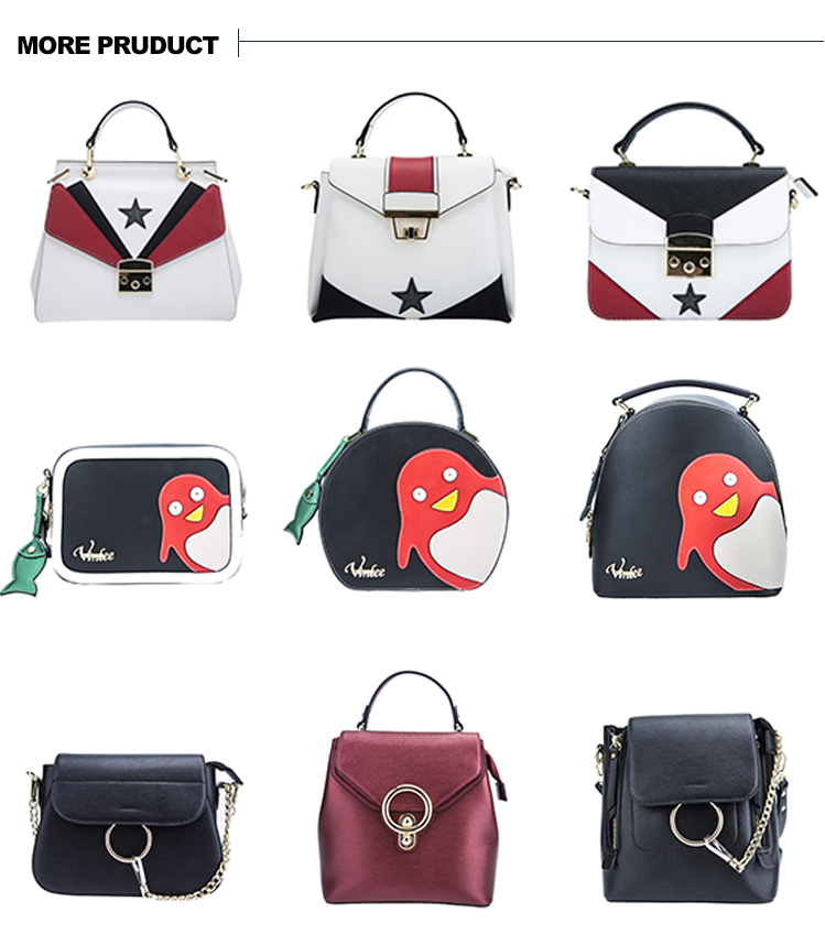 China high quality handbag for ladies with leather 17SH-5830D
