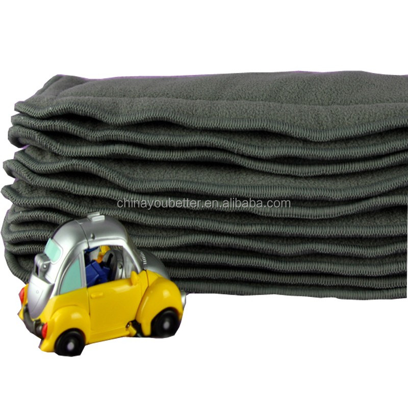 Bamboo Charcoal Diaper Insert 5Layers Charcoal