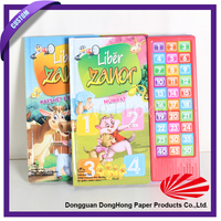 Customized Hardcover Children Sound Book & Reading Pen With Cheap Price