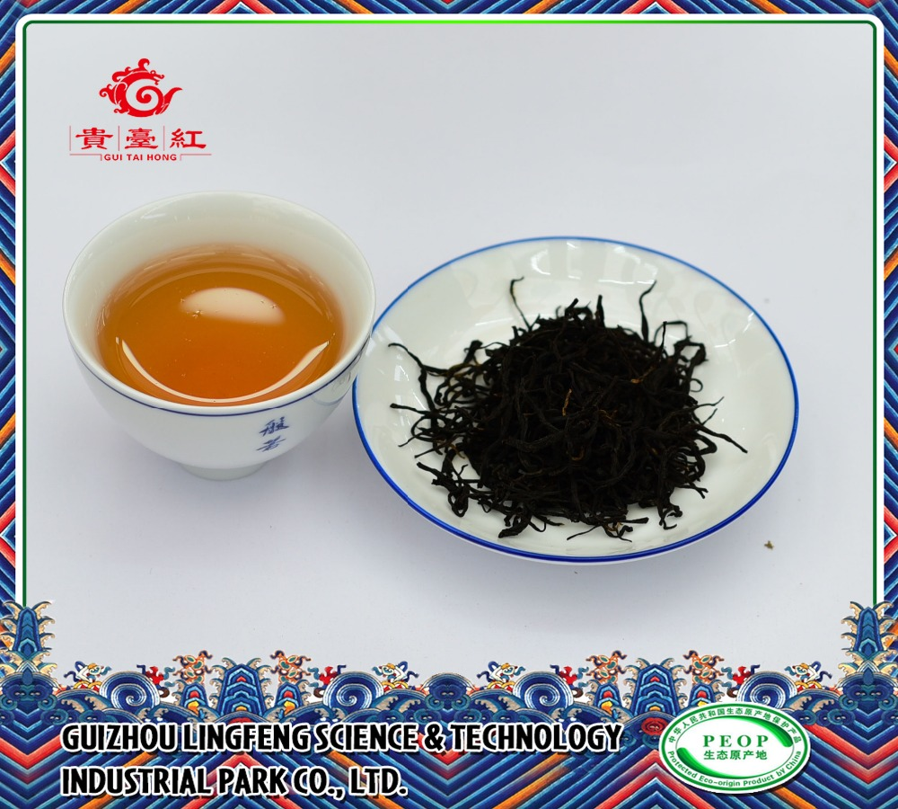 Strong fermented decaf loose black tea with wholesale price from China