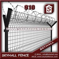 Good Quality PVC Coated Airport Fence For Road