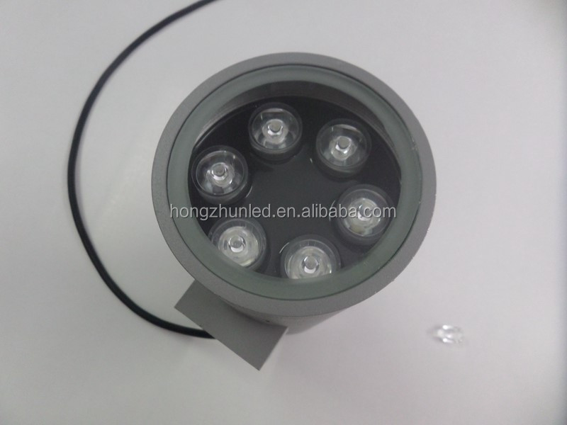 6*2w*2 IP65 outdoor led wall light bule green color with SASO certificate