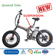 Low price 20Inch 48V fat tire beach cruiser cheap electric bike with 500W motor snow e bicycle