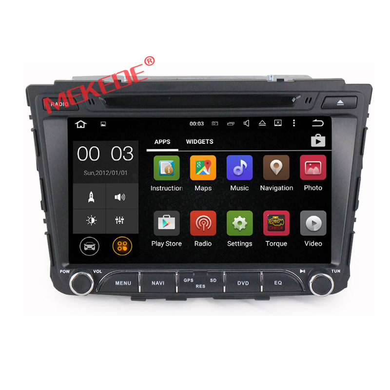 Wholesales! touch screen 7 Inch Car DVD Player Android 7.1 For Hyundai IX35 2013 Wifi GPS Navigation Radio USB