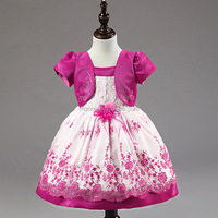 Top Selling Newest Baby Girl Flower Clothing Summer kids clothing wholesale Latest Designs Baby Frock