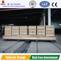 Durable tunnel kiln car in clay brick factory