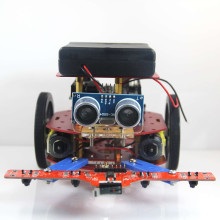 Arduinos Mobile Platform Education Mobile Robot Platform Base On DC Motor with Wheel
