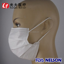 Disposable Non Woven 3 Ply Dust Face Mask