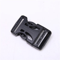 Plastic black POM adjustable quick side release buckle