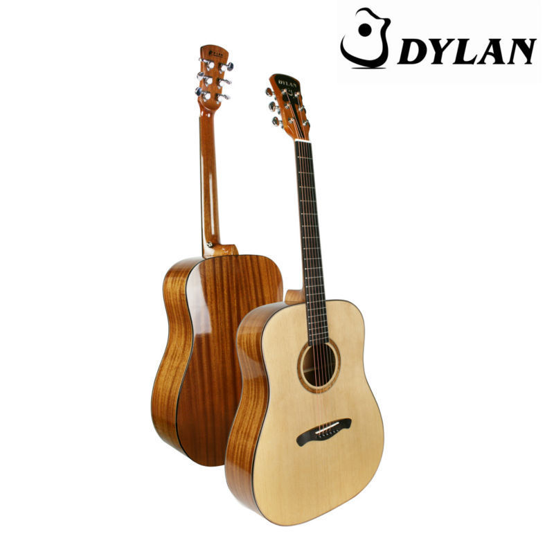 high level guitar solid wood acoustic guitar china supplier