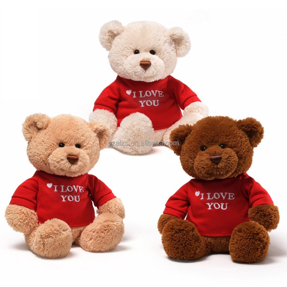 Hot Sale I Love you Singing Plush Teddy Bear Toys