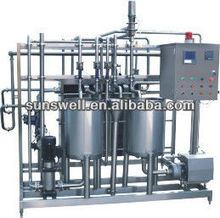 Pasteurization machine used in juice making plant