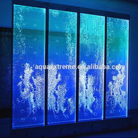 4pcs x 2ft x 8ft Hight Digital Water Bubble wall interaction programing