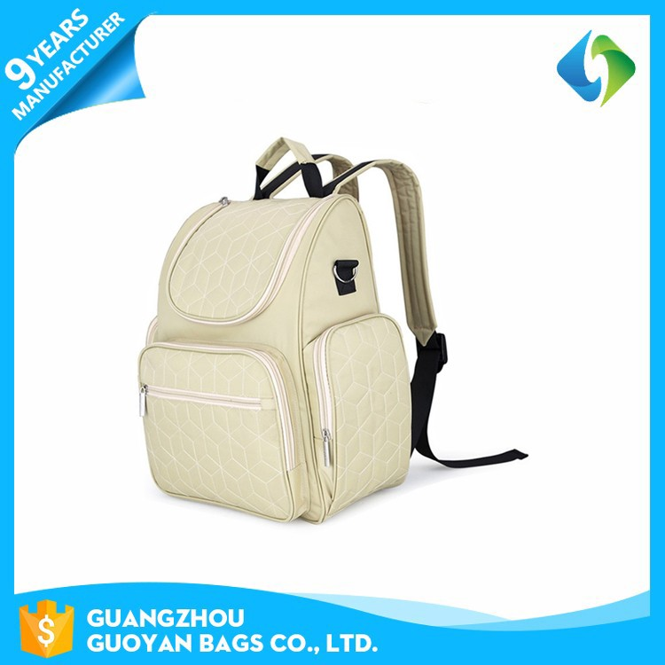 China wholesale oem waterproof travel backpack diaper bag for baby