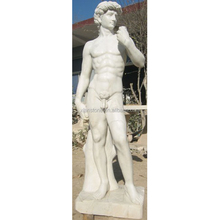 Famous classic sculptures white marble statue of david