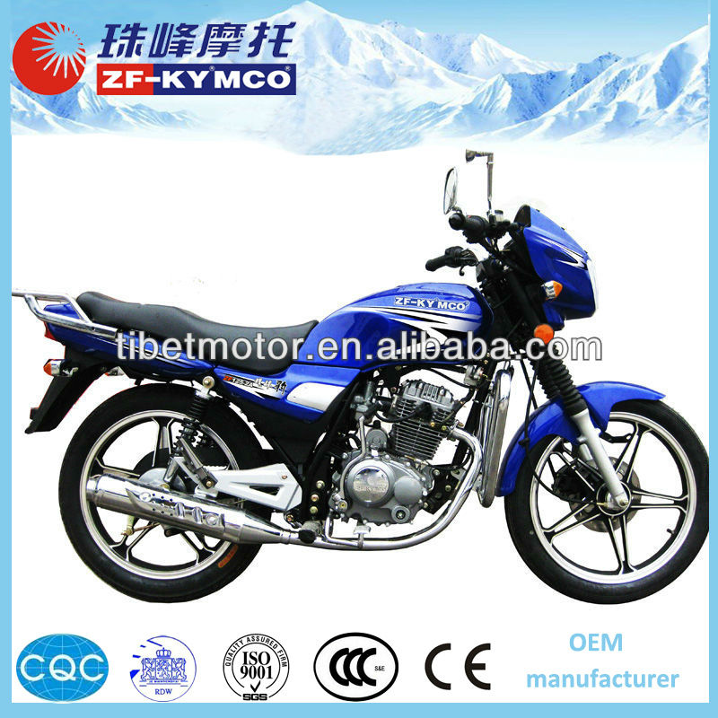 High quality mountain road 150cc street bike motorcycle for sale ZF125-2A(II)