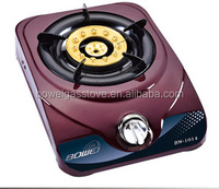 Lighter Portable Gas Hob , Single Burner Kitchen Cooking , Stainless Steel Gas Stove BW-1014