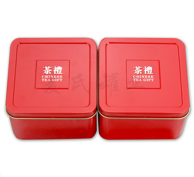 Promotional Gifts Square Tin Box Decorative Tin Boxes,Square Gift Boxes