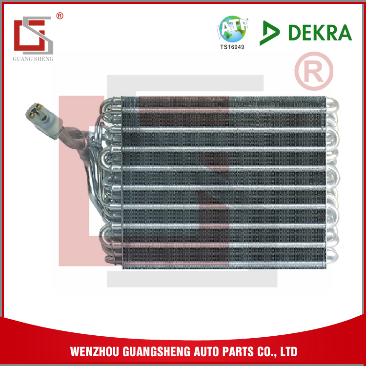 GUANGSHENG Aluminum 1.8MM Fin Pitch Evaporator Coil Heater For VW OEM Car Spare Parts