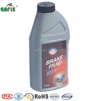 500ml plastic high wet boiling point U.S. FMVSS NO116 BRAKE OIL DOT3