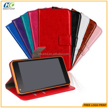Hot selling Wholesale Cheap Cell Phone Accessories Crazy Horse Design Stand Flip Folio Leather Case for Nokia Lumia 930