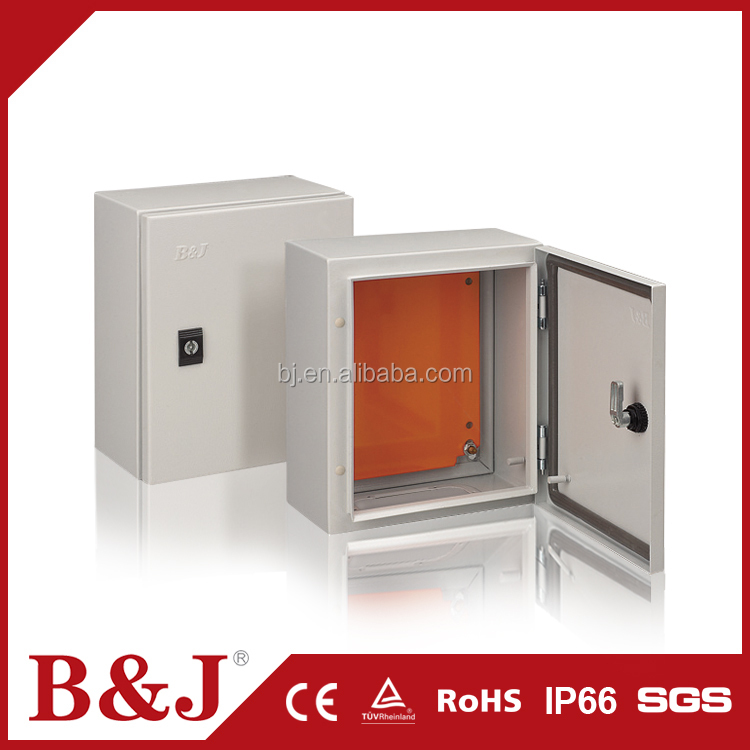 B&J Professional Made Outdoor Portable Wall Mount Enclosure Power Electrical Distribution Box